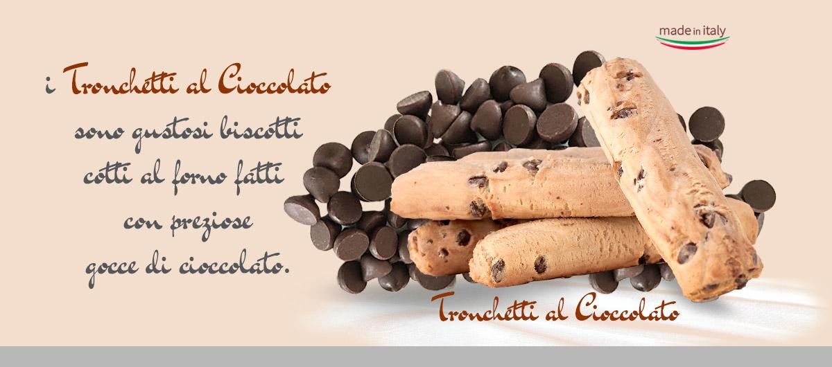 Tronchetti al cioccolato